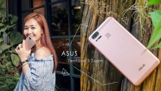 愛拍照的人就該買這支!玫瑰金 ASUS ZenFone 3 Zoom ZE553KL 1+1雙鏡頭手機