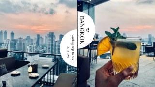 曼谷137pillars飯店露天酒吧 The Marble Bar 調酒便宜又好喝大推薦Mai Tai
