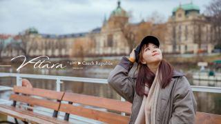 捷克景點》搭船遊伏爾塔瓦河吃午餐。布拉格查理大橋散步