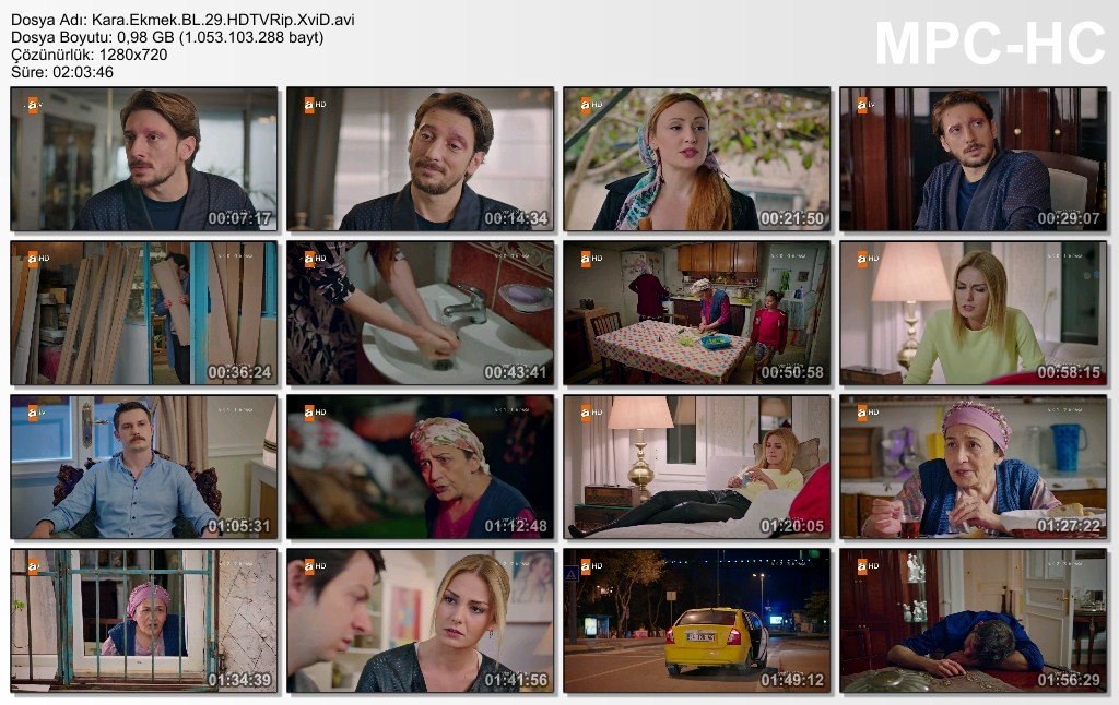 Kara Ekmek 29.Bölüm HDTVRip XviD - Tek Link