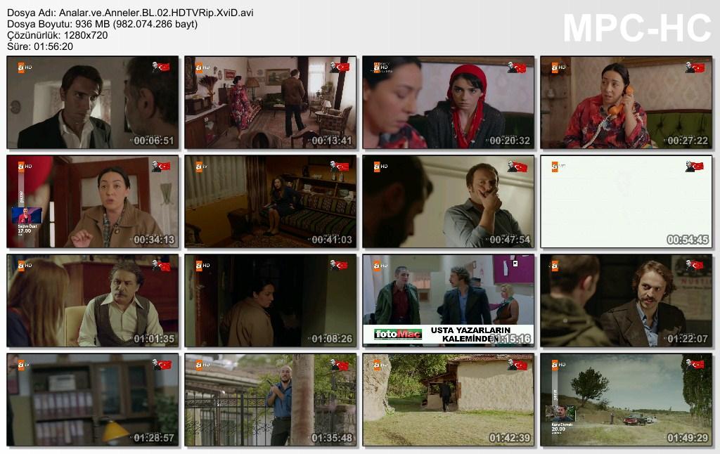 Analar ve Anneler 2.Bölüm HDTVRip XviD - Tek Link