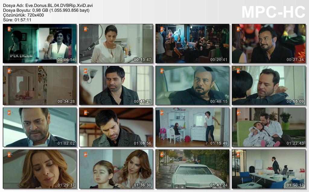 Eve Dönüş 4.Bölüm DVBRip XviD - Tek Link