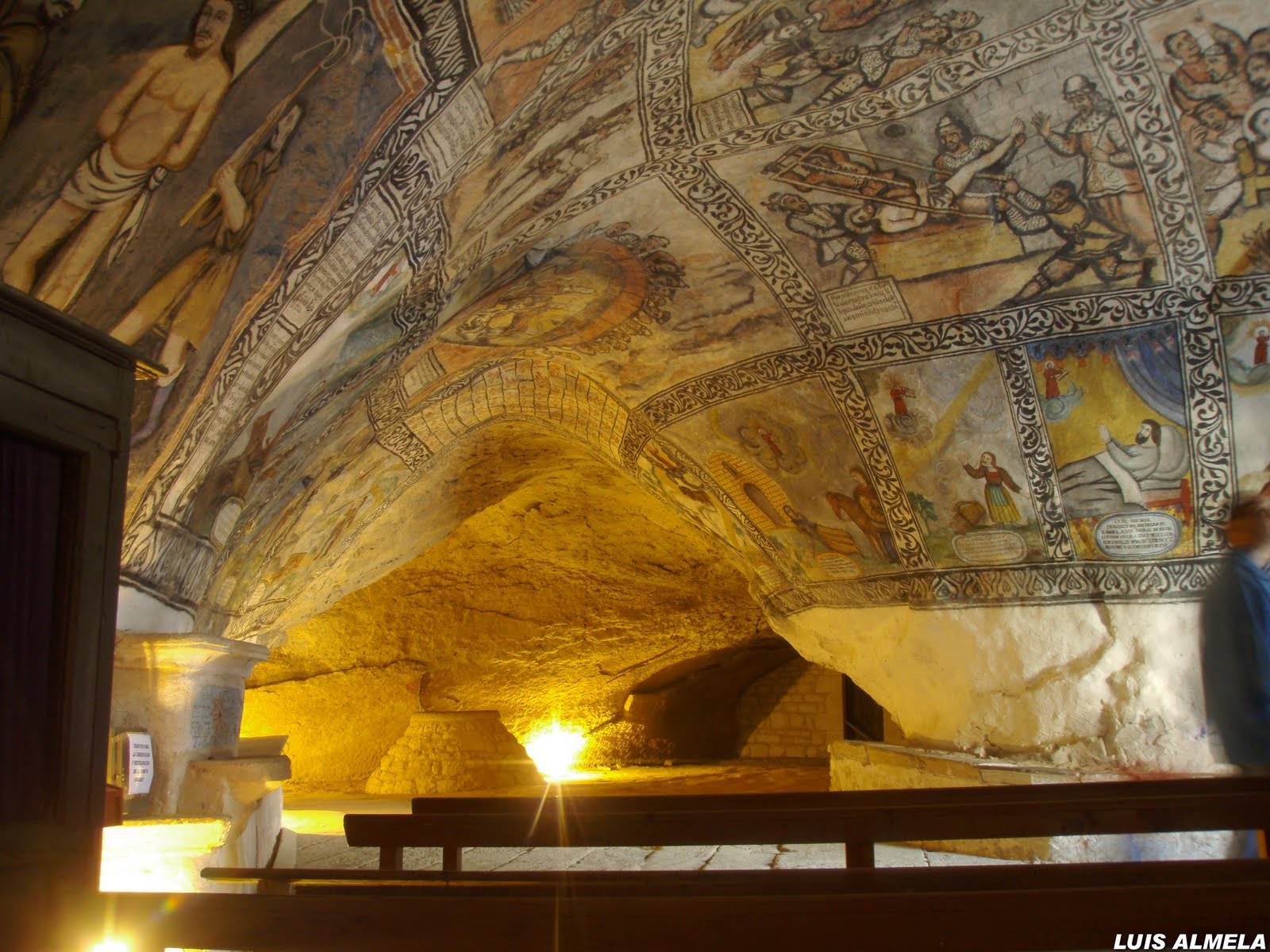 ermita templaria en Burgos