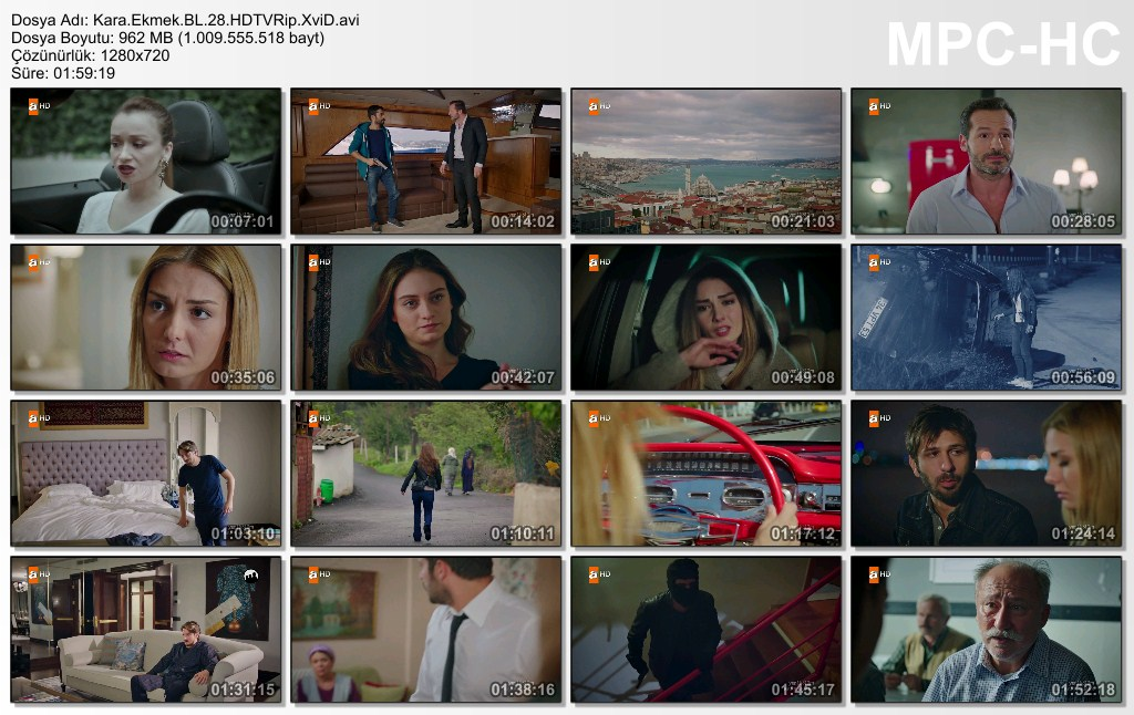 Kara Ekmek 28.Bölüm HDTVRip XviD - Tek Link
