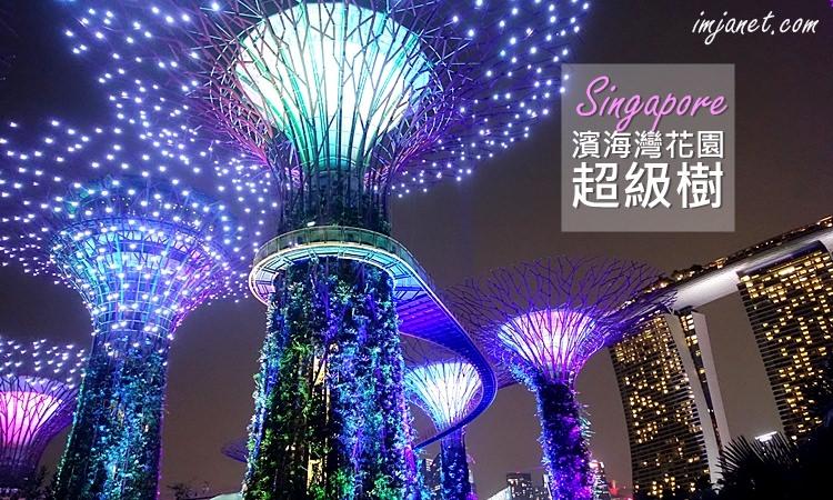 新加坡|濱海灣花園必去景點,天空樹百萬夜景浪漫指數破表,一腳踏入阿凡達電影世界