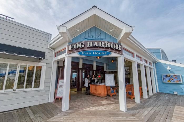 舊金山美食|漁人碼頭必吃海鮮 Pier 39 Fog Harbor Fish House
