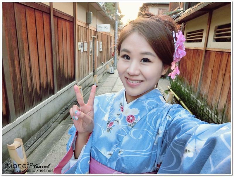 日本‧京都》穿上夢館和服,像日本妹一樣盡情遊歷古色古香清水寺