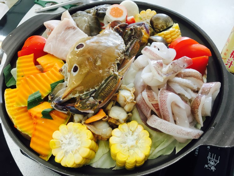 天河海產店,東港cp值超高海鮮餐廳,無敵牛奶海鮮鍋,台17線上近大鵬灣