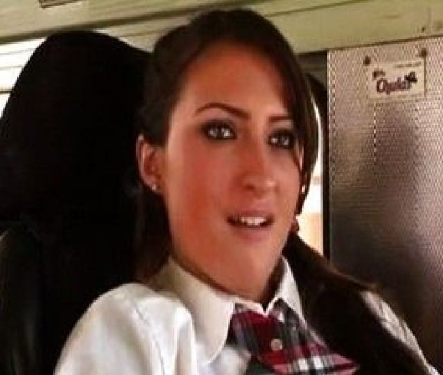 High School Girl Gets Fucked In A Bus