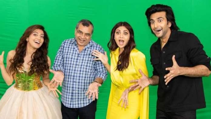 Pics: Meezaan, Shilpa Shetty, Pranitha & Paresh Rawal kickstart promotions  for Hungama 2