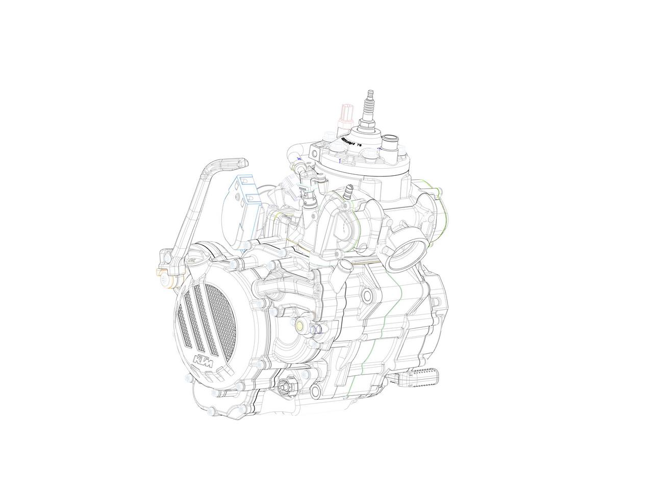 Ktm Develops First Two Stroke Fuel Injected Engine