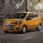 India Made 2018 Chevrolet Beat Notchback Launched In Mexico