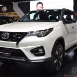 Toyota Fortuner Trd Sportivo Displayed In India To Be Launched In September