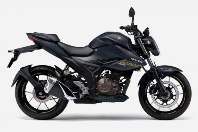 2021 Suzuki Gixxer 250 Black Right