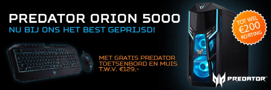 Acer Predator 5000 series promotions