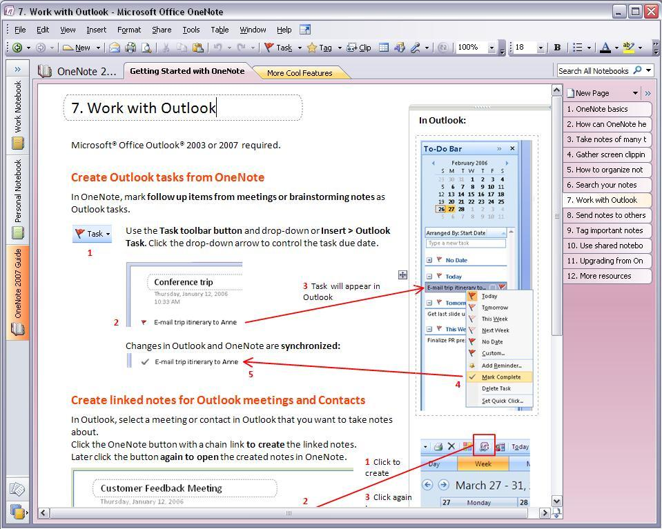 onenote notebook templates