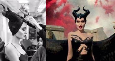 「裘莉的《黑魔女2》上妝有多費工?」幕後上妝影片大公開,竟然需要 44 名化妝師! - 我們用電影寫日記