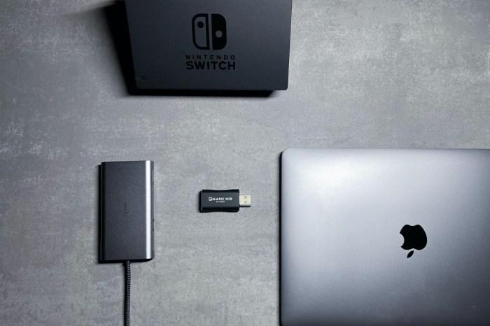 GAME'NIR筆電轉接器,用筆電螢幕玩Switch的必買小配件,支援mac跟win雙系統,簡單易用,而且超便宜。
