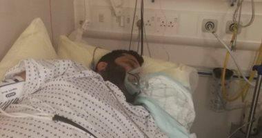 أول صورة لتركى آل الشيخ فى المستشفى انفراد