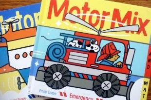 [幼兒圖像邏輯]適合2歲以上|Motor Mix 配對遊戲翻翻拼圖書+同場加映:我的冰箱書