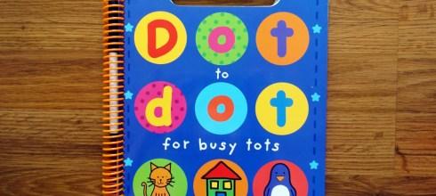 Dot to dot for busy tots忙碌的點點連連遊戲書