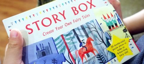 引導想像邏輯及表達力|Story Box故事盒,讓孩子自己拼出N種童話故事