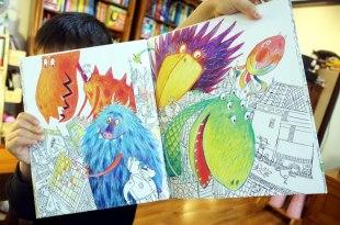 全新的嘗試 第一次共讀「無字書」 Monster Book培養孩子的觀察力與想像力