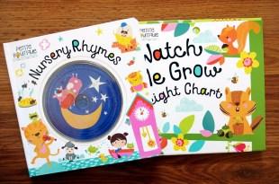 [幼兒歌謠有聲書] 久違了,Nursery Rhymes鵝媽媽歌謠 還有身高尺硬頁書