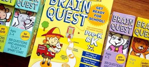 名列維基百科的全球暢銷童書|小小孩的Summer Brain Quest 大腦益智任務冊(夏日本)