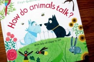 同大爺好愛的50個為什麼翻翻書 How do animals talk? 動物怎麼說話呢?