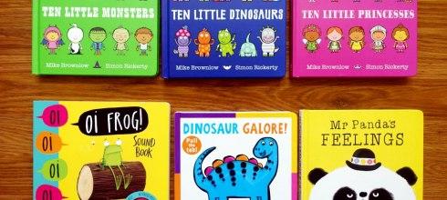 會想一直聽下去的親子共讀書單|Ten Little系列:驚險又刺激的數字冒險故事