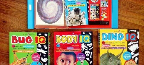 愈玩愈有趣 Smart Kids IQ Box Sets 小動腦IQ自然百科遊戲盒(太陽系與恐龍篇)