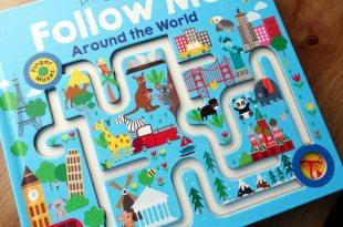 2歲就可以玩的組織計劃力遊戲|Follow Me Around The World|手指迷宮看世界
