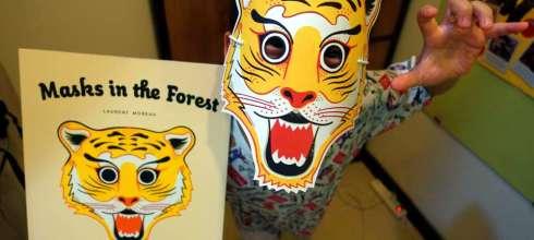 比想像精彩萬分的森林面具書|MASKS IN THE FOREST|根本是在「玩」故事