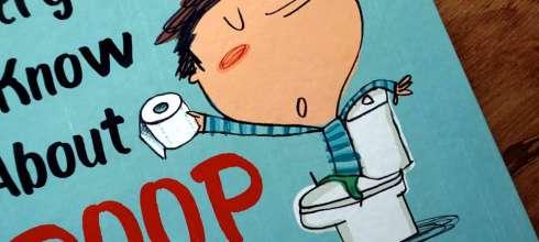 小孩很愛說「大便」「屁股」啦:Everything I Know About Poop|和孩子共讀大便書