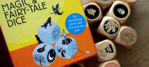 合作性桌遊|Magic & Fairy-Tale Dice故事骰|建立連續專注力,可變化超過10萬種故事