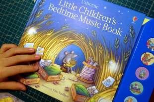 小孩乖乖睡|Little Children's Bedtime Music Book |輕輕柔柔-搖籃曲音效書