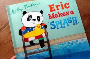 我家有個什麼都怕怕小人|非常建議共讀:Eric Makes A Splash