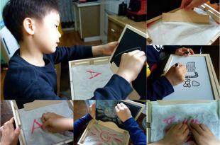 [同大爺私物] 玩沙,畫畫,運筆,觸覺體驗都好用|西班牙akros蒙特梭利沙盤運筆塗鴨木盒|