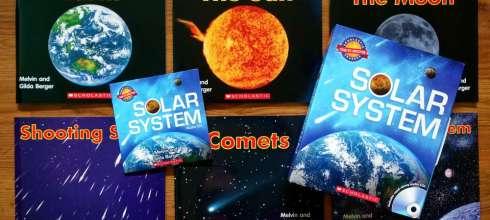 美國教師們大力盛讚 發現太空有聲CD書 Solar System 超真實有趣,又容易明白