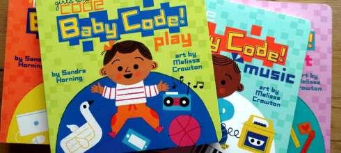 非營利組織girls who code合作出版|Baby Code!|給小小孩的程式語言啟蒙書