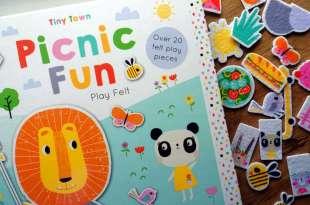 3歲親子共讀|Magical Unicorns和Tiny Town|不織布靜電貼遊戲書|可做初階橋樑書使用