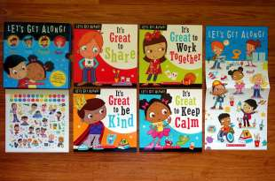 小孩必備的兒童行為書單|Let's Get Along Collection|說道理不如聽故事