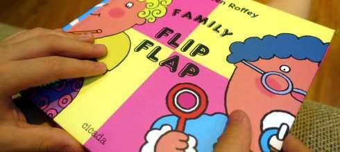 充滿無限組合與驚喜 Family Flip Flap 我們這一家,1本打破邏輯的哈哈大笑翻翻書