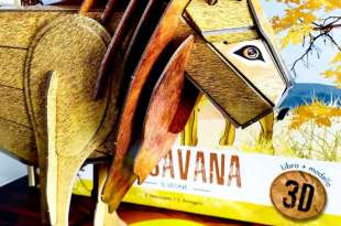 動手拼自己的巨型獅子王|The Savannah: 3D Lion|值得入手的立體結構拼圖書盒