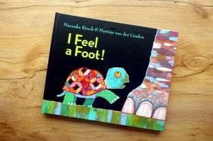 童書版的盲人摸象,超過10年的媽媽好評繪本I  Feel a Foot! ,還有A Bear is a Bear音檔書