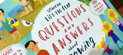 小孩的百科翻翻書大集合  Questions and Answers about Growing Up 長大的那些為什麼