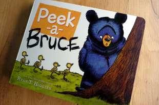 只要媽媽都會懂|Peek-A-Bruce|看完都會舉手說中的書