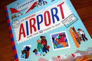 小孩的機場實境書 Little Adventurers Airport 超過50個翻翻小機關