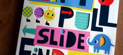 連媽媽都會喜歡的ABC操作書|Lift, Pull, Slide And Find Abc,每個機關都是驚喜